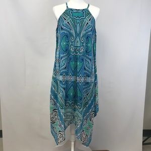 WOMEN'S MSK BLUE SIZE 10 DRESS